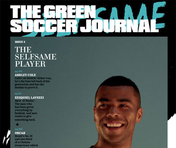 19 YEARS AS TOTTENHAM HOTSPURS' RESIDENT MAGICIAN CAUGHT THE EYE OF THE GREEN SOCCER JOURNAL