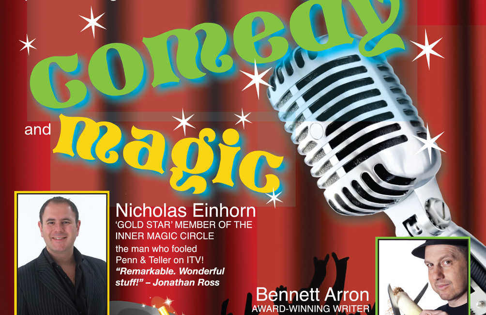 AN EVENING OF COMEDY & MAGIC